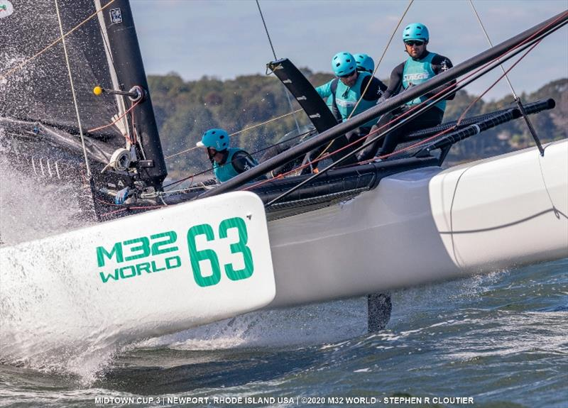 Team Surge with Ryan McKillen - 2020 M32 Midtown Cup 3 - photo © Stephen R Cloutier