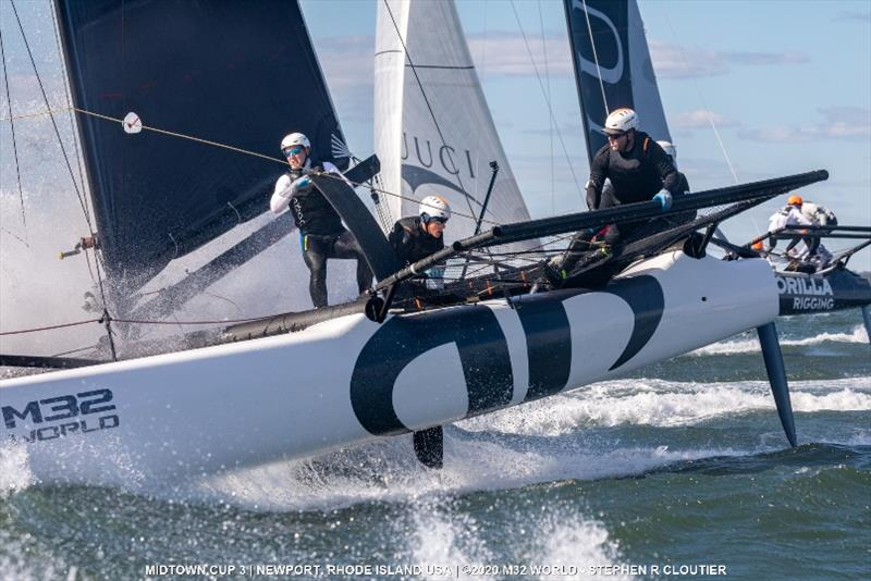 Team Argo with Jason Carroll - 2020 M32 Midtown Cup 3 - photo © Stephen R Cloutier
