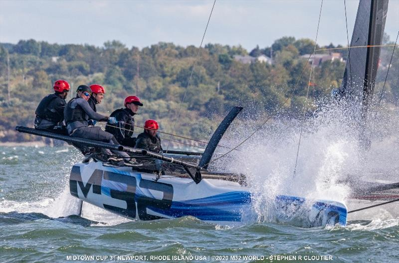 Team Catapult with Joel Ronning - 2020 M32 Midtown Cup 3 - photo © Stephen R Cloutier