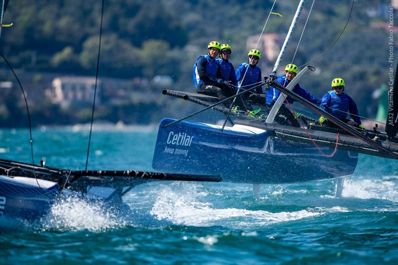 Team Vitamina Rapida/Cetilar with Skipper Andrea LaCorte during training session in Italy April 2021. - photo © Fabio Taccola