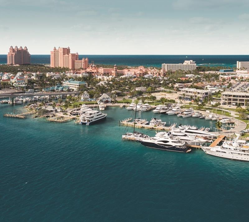 Restoration Of Iconic Hurricane Hole Superyacht Marina At Paradise Landing In The Bahamas Underway