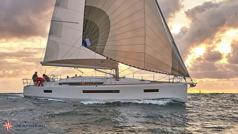 The Sun Odyssey 490 premiering at Sydney International Boat Show photo copyright Jeanneau taken at  and featuring the Marine Industry class