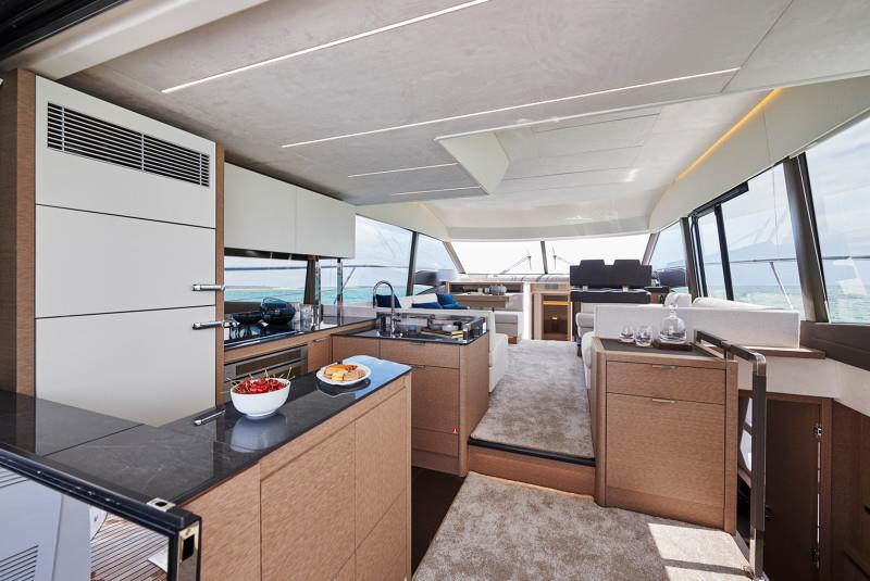 New Prestige 590 - photo © Sarah Henry