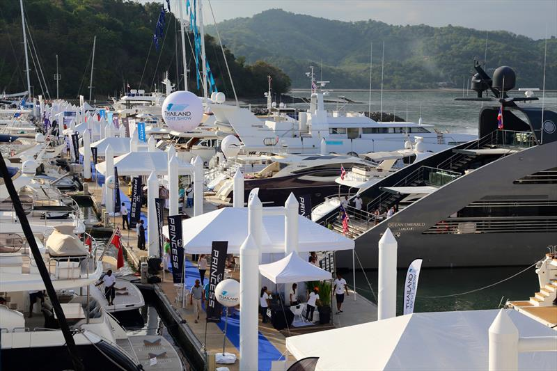 Thailand Yacht Show. Government money. Now aligned with the Phuket Rendezvous, and looking for a home. - photo © Phil Blake