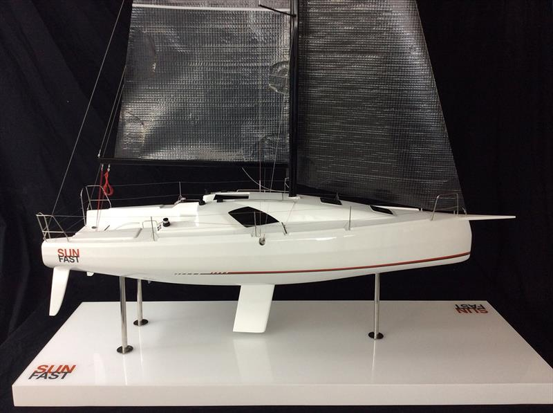 Sun Fast 3300 model from launch announcement photo copyright Jeanneau taken at  and featuring the Marine Industry class