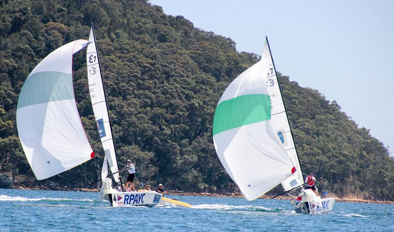Harken International Youth Match Racing Championship day 2 - photo © Tom Vincent