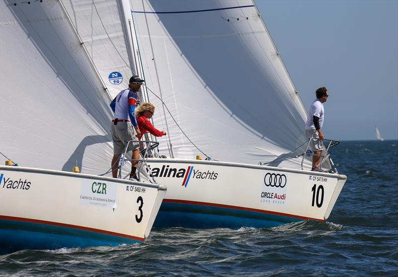 Long Beach Yacht Club Ficker Cup day 2 - photo © Bronny Daniels / Joysailing