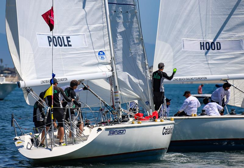 Long Beach Yacht Club Ficker Cup day 3 - photo © Bronny Daniels / Joysailing