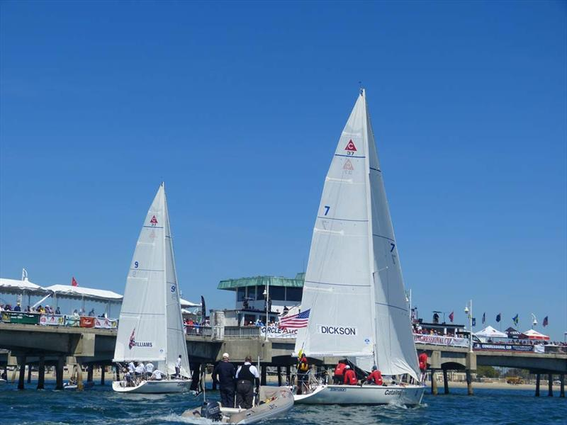 The 2020 Congressional Cup has been cancelled photo copyright LBYC taken at Long Beach Yacht Club and featuring the Match Racing class