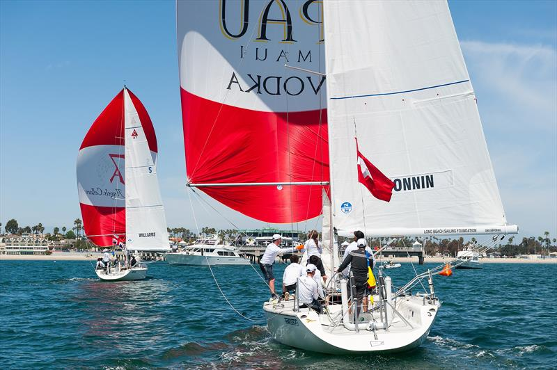 Congressional Cup - Day 1 - Long Beach Yacht Club - April 18, 2018 - photo © Doug Gifford
