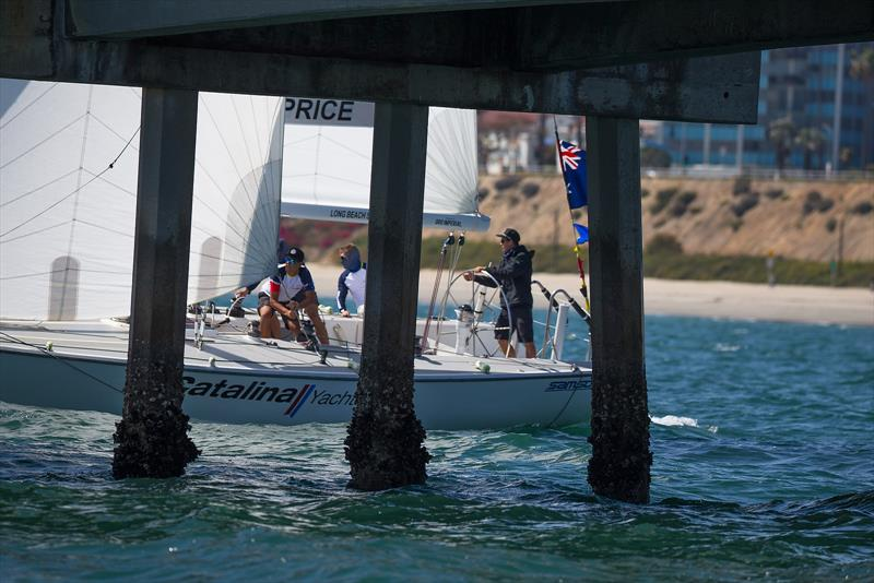 Harry Price (AUS) - Congressional Cup - Day 1 - Long Beach Yacht Club - April 18, 2018 - photo © Sharon Green / ULTIMATE SAILING