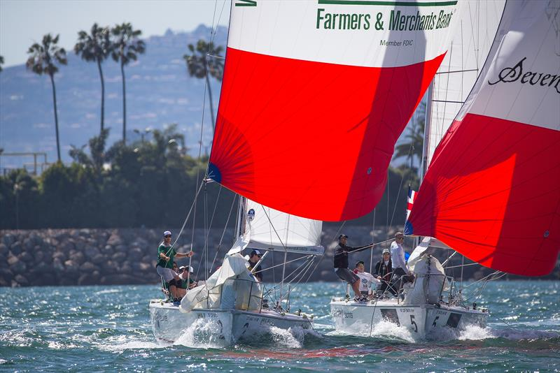 Congressional Cup - Day 1 - Long Beach Yacht Club - April 18, 2018 - photo © Sharon Green / ULTIMATE SAILING