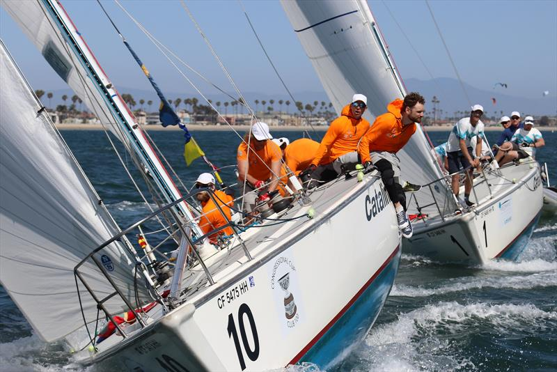 Congressional Cup - Day 1 - Long Beach Yacht Club - April 18, 2018 - photo © Bronny Daniels