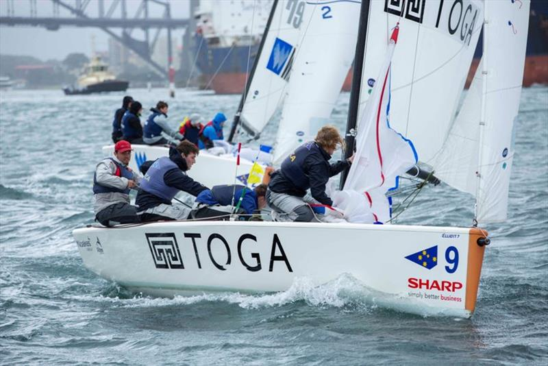 James Hodgson and his team from the Cruising Yacht Club of Australia currently sit at the top of the leader board. - photo © Hamish Hardy CYCA