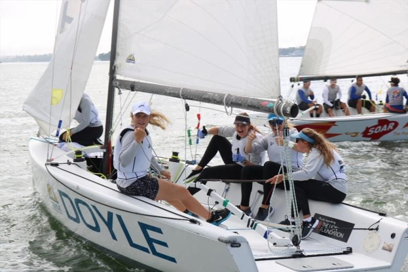 Charlotte Griffin RSYS Team - NZ Women's Match Racing Championship - photo © Andrew Delves