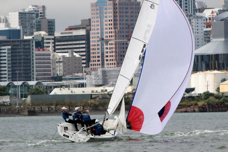 RPAYC Girls Team - NZ Women's Match Racing Championship - photo © Andrew Delves