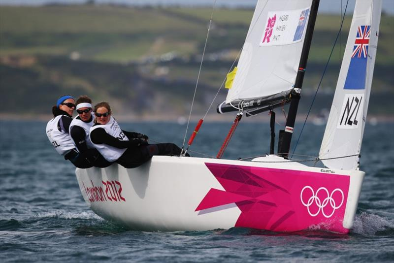 Susannah Pyatt at the 2012 Olympics - NZ Women's Match Racing Championship - photo © Andrew Delves