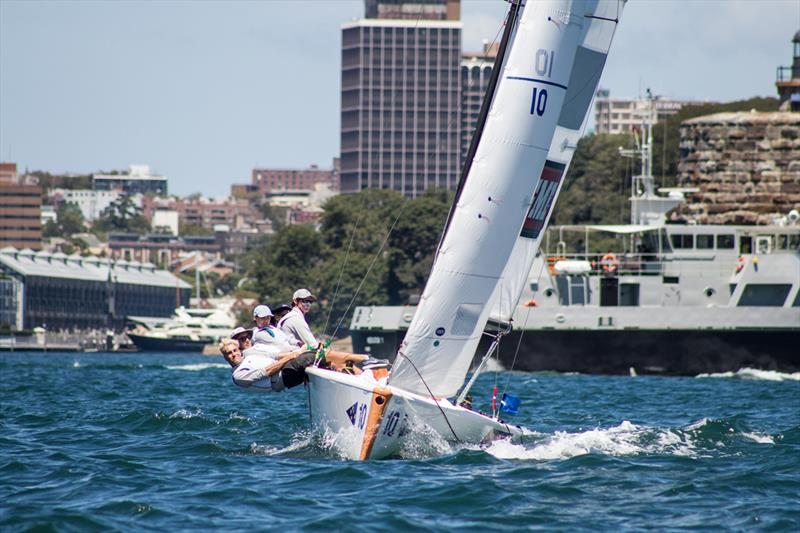 Hardy Cup 2018 on a busy Sydney Harbour - photo © Darcie C Photography