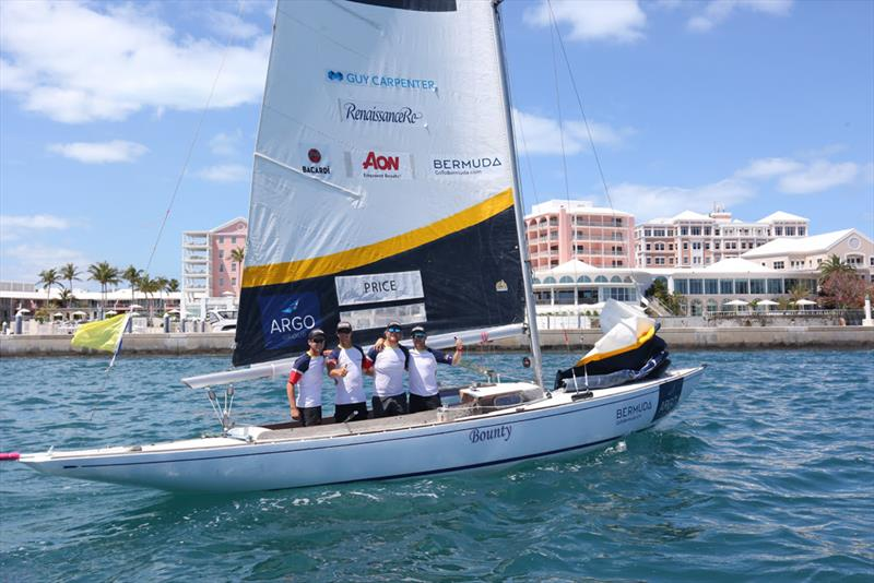 Australian Harry Price and his crew of New Zealanders placed third overall and Price was awarded the Jordy Walker Memorial Trophy for most improved - Argo Group Gold Cup - photo © Charles Anderson