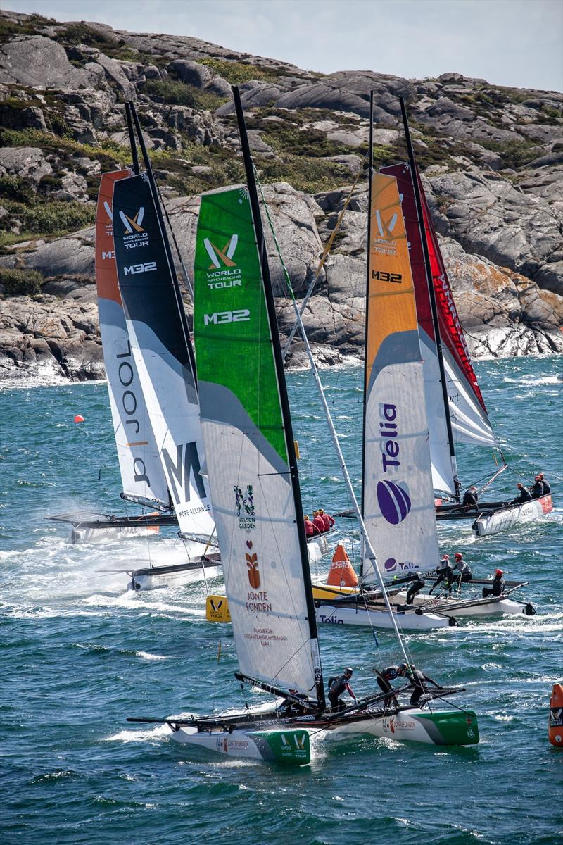 Fleet race Qualifying - 2019 World Match Racing Tour Championship Final  - photo © Patrick Malmer