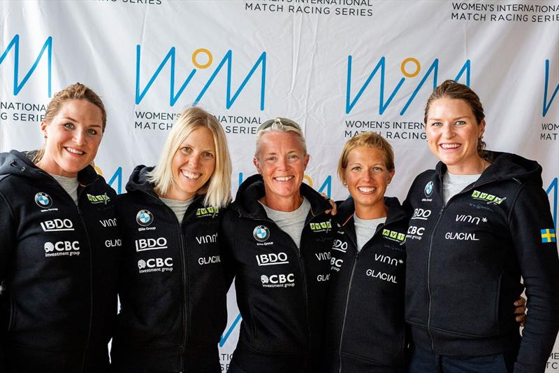Team Wings – Annie Wennergren, Anna Östling, Annika Carlunger, Marie Berg, Linnéa Wennergren. photo copyright WIM Series taken at  and featuring the Match Racing class