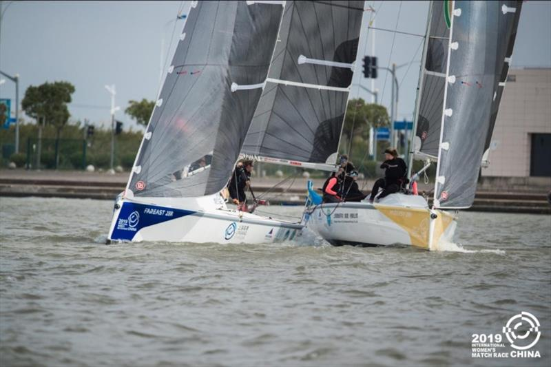 2019 China International Women's Match Race in Shanghai - photo © CIWMR Media