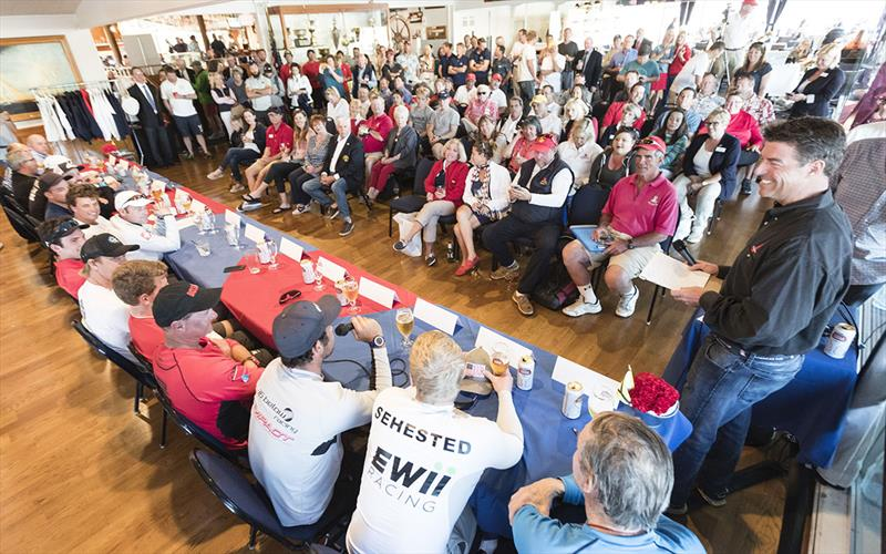 The daily press conferences are often a highlight of the event - World Match Racing Tour, Congressional Cup - photo © Ian Roman