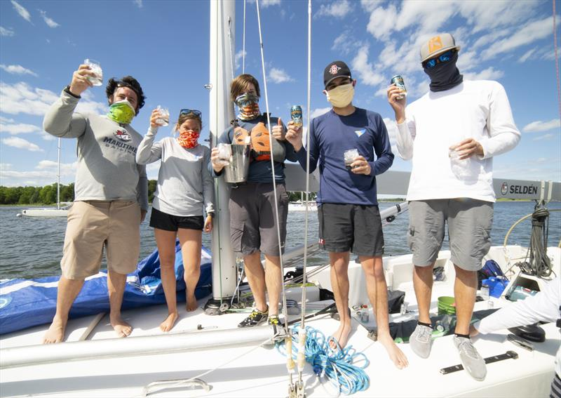 Apres sailing at Oakcliff's 2020 Quaranteam Regatta - photo © Francis George/Oakcliff Sailing