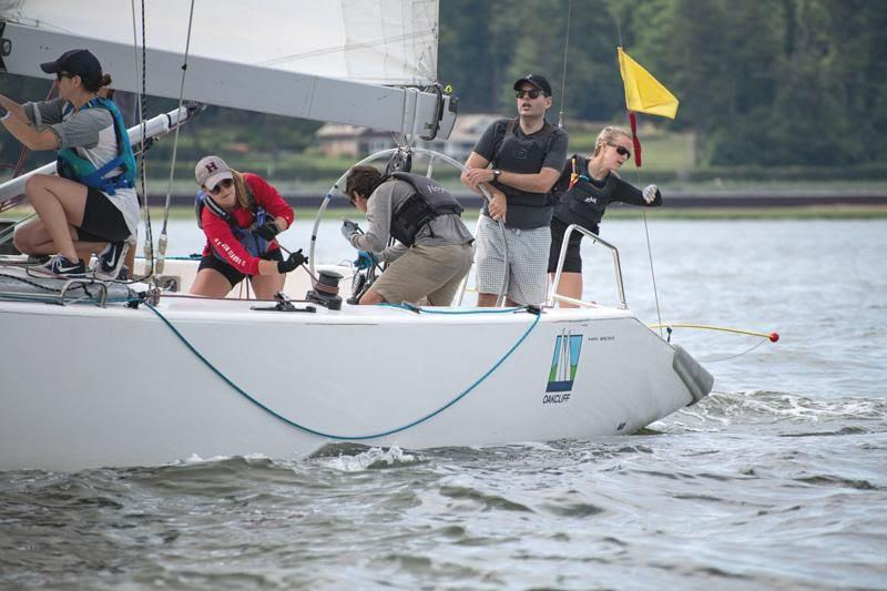 Webster cinches win at June Grade 5 - photo © Oakcliff Sailing