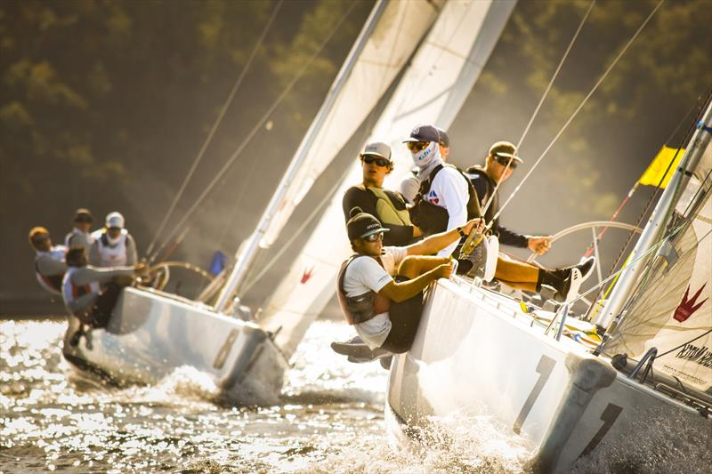 Oakcliff Sailing has a strong match-racing program - photo © Image courtesy of Oakcliff Sailing Center