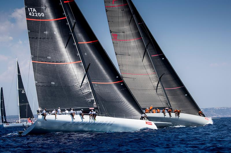 Mallorca Sotheby's IRC 0 fleet on day 4 of the 37th Copa del Rey MAPFRE in Palma - photo © María Muiña / Copa del Rey MAPFRE