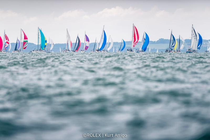 2019 Rolex Fastnet Race photo copyright Rolex / Kurt Arrigo taken at Royal Ocean Racing Club and featuring the Maxi class