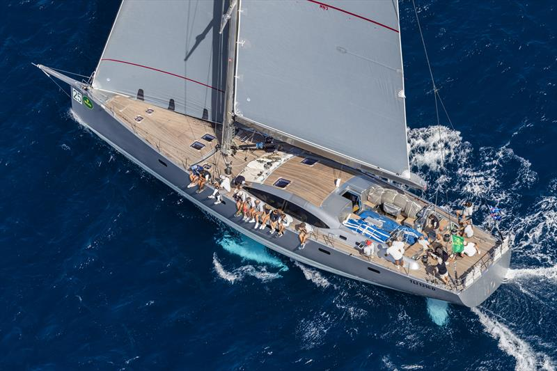 Riccardo de Michele's Vallicelli 80 H2O has won the Mini Maxi Cruiser/Racer class for the last two seasons at the Maxi Yacht Rolex Cup - photo © Rolex / Studio Borlenghi