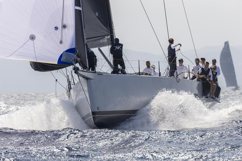 Roberto Lacorte's Mills Vismara 62 SuperNikka won Mini Maxi Racer 2 today on day 1 of the Maxi Yacht Rolex Cup - photo © Studio Borlenghi / International Maxi Association