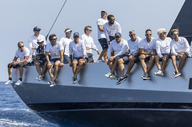 A second bullet today maintained SuperNikka's perfect scoreline in the Mini Maxi Racer 2 class on day 2 of the Maxi Yacht Rolex Cup - photo © Studio Borlenghi / International Maxi Association