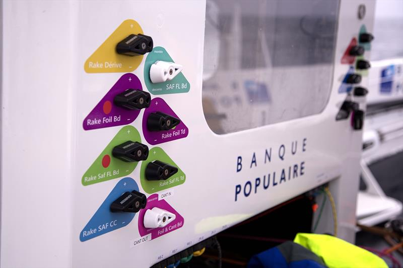 Fiil controls - Banque Populaire IX - photo © Easy Ride / BPCE