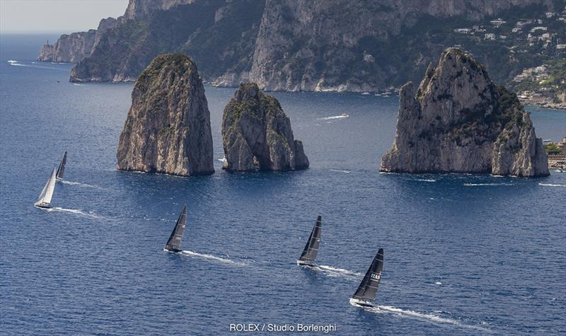 Magnificent landmarks such as the Faraglioni rocks are a huge attraction of Rolex Capri Sailing Week. - photo © Rolex / Carlo Borlenghi