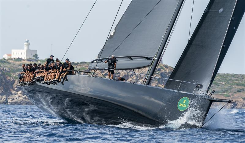 Charif Souki's (Mark Mills-designed) Wallycento Tango on day 4 of the Maxi Yacht Rolex Cup - photo © Rolex / Studio Borlenghi