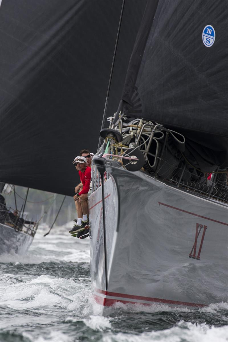 Wild OatsXI lead from gun to gun to take Line Honours. - photo © Andrea Francolini