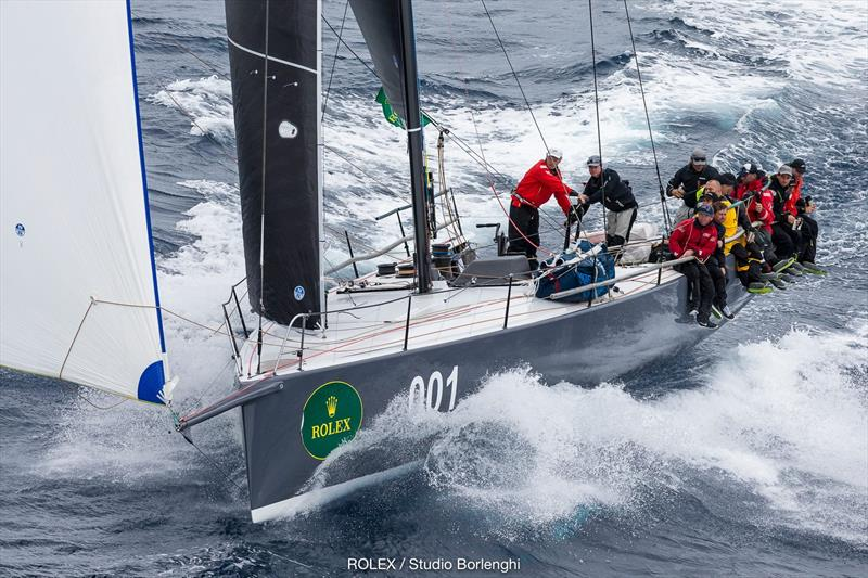 Ichi Ban - 2017 Rolex Sydney Hobart Yacht Race photo copyright Carlo Borlenghi / Rolex taken at Cruising Yacht Club of Australia and featuring the Maxi class