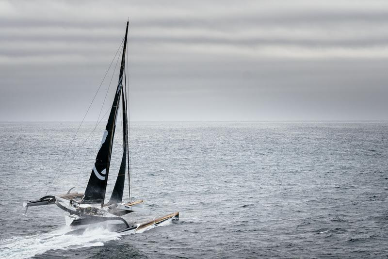 Spindrift 2 training ahead of their 2019 Jules Verne record attempt - photo © Chris Schmid / Spindrift racing