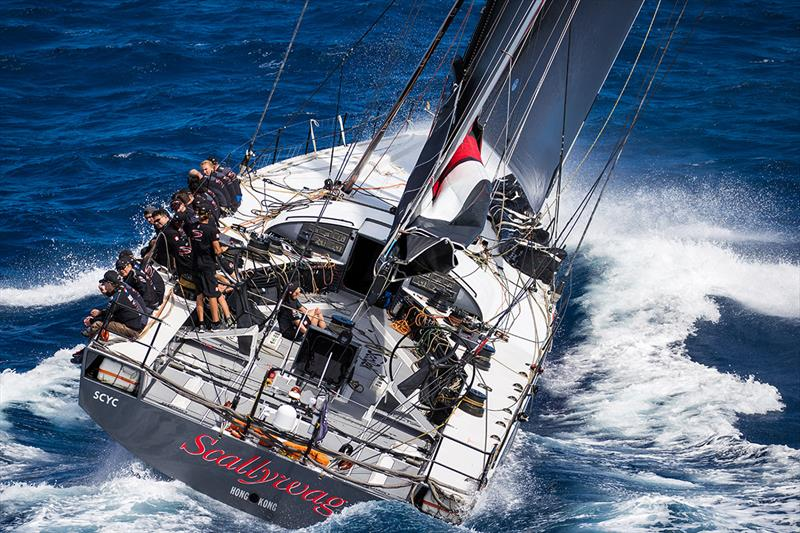 2019 Les Voiles de St. Barth Richard Mille photo copyright Christophe Jouany taken at  and featuring the Maxi class