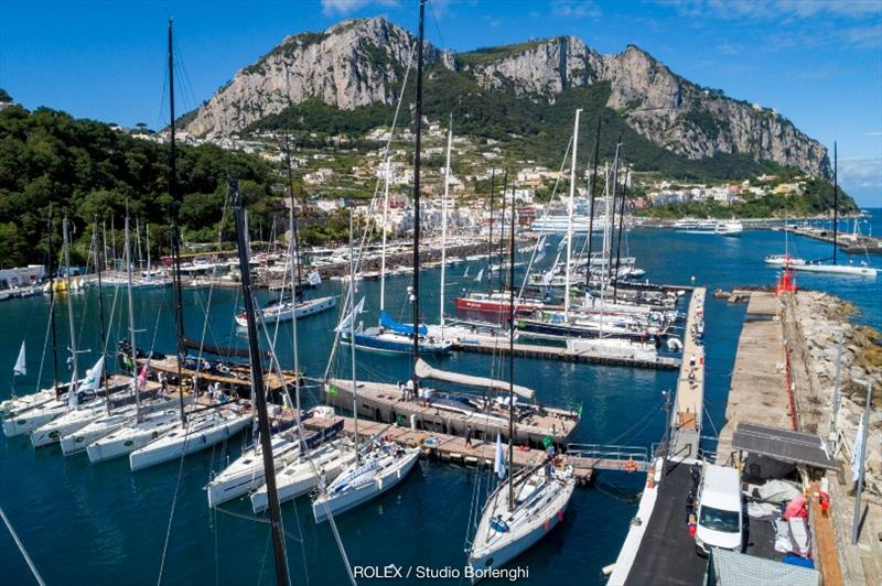 Marine Grande and the magnificent island of Capri - photo © Carlo Borlengi / Studio Borlenghi