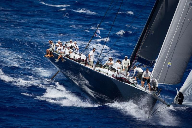 Super Maxi RIO 100 at 2015 Transpac finish - photo © Race Yachts