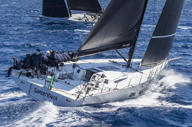 SuperNikka - Roberto Lacorte's Mills Vismara 62 comfortably won today's race and leading the Maxi Racer division - Rolex Capri Sailing Week - photo © Rolex / Studio Borlenghi