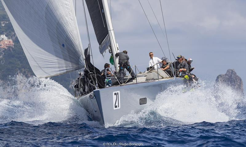 Benoît de Froidmont's Wally 60 Wallyño secured the racer-cruiser division title - Rolex Capri Sailing Week - photo © Rolex / Studio Borlenghi