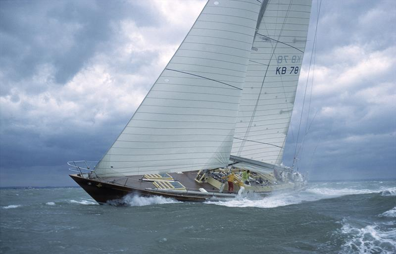 Condor of Bermuda was first to finish and took set a new race record - 1979 Fastnet Race - photo © Alastair Black