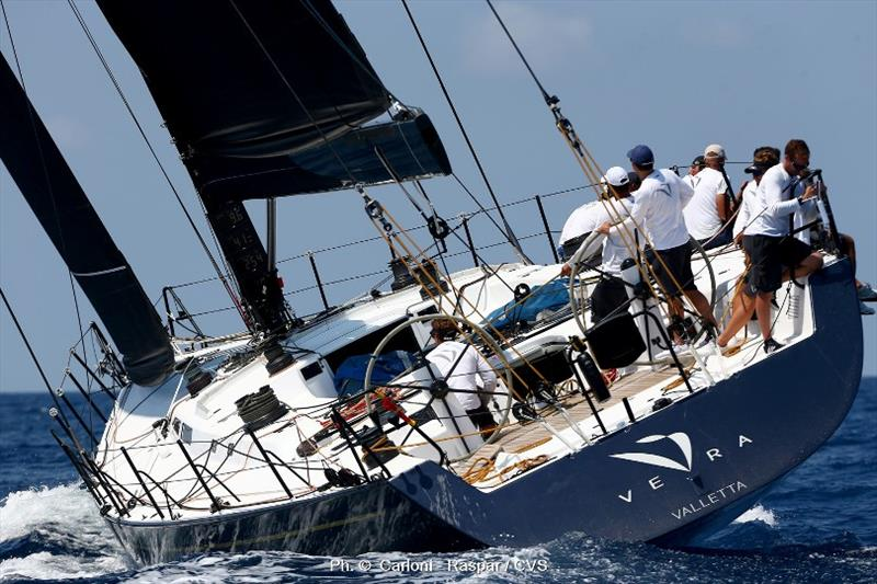 Miguel Galuccio'a maxi Vera is favourite for Palermo-Montecarlo line honours. photo copyright Carloni - Raspar / CVS taken at Yacht Club Costa Smeralda and featuring the Maxi class