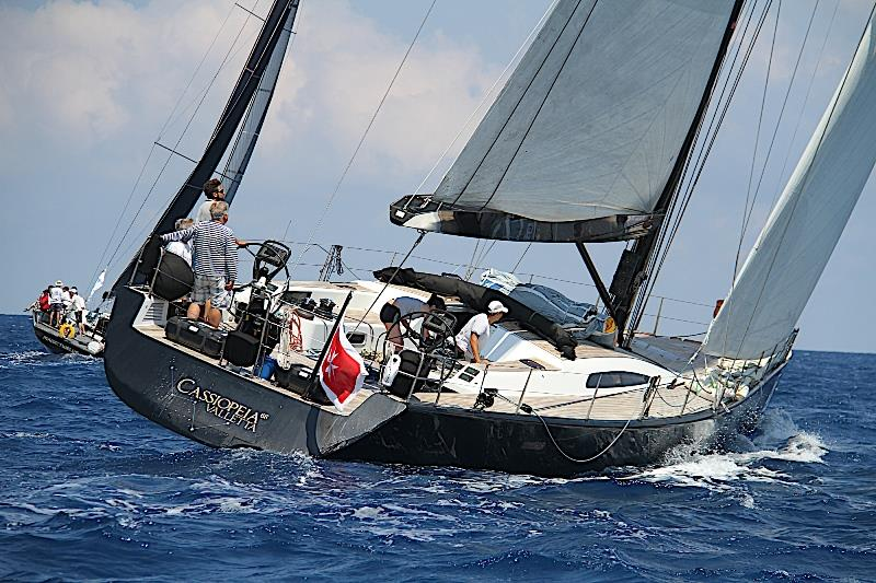 The Marten 68 Cassiopeia is being campaigned by Hungarian Kristof Nobilis and his family. - photo © James Boyd / Sailing Intelligence