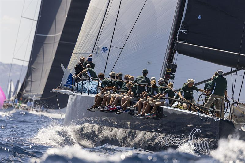 For a second day Highland Fling XI prevailed in the Maxi Racer class - Maxi Yacht Rolex Cup 2019 - photo © Studio Borlenghi / International Maxi Association